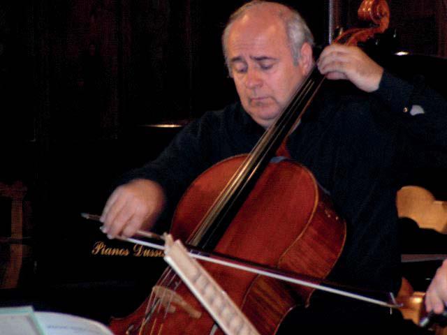 Entretien avec fr d ric borsarello violoncelliste - Concours international de musique de chambre de lyon ...